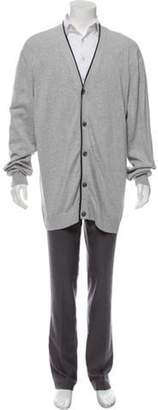 Michael Kors Knit Button-Up Cardigan grey Knit Button-Up Cardigan