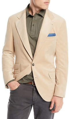 Brunello Cucinelli Men's Corduroy Sport Jacket