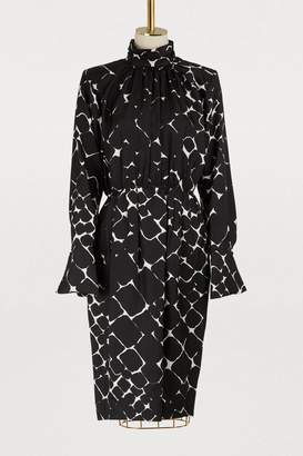 Marc Jacobs Long sleeved printed dress