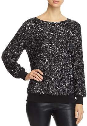 Lafayette 148 New York Nessa Sequined Blouse