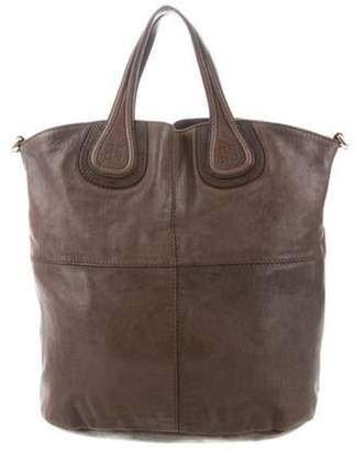 Givenchy Leather Nightingale Tote Bag Brown Leather Nightingale Tote Bag