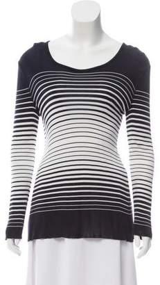 Sonia Rykiel Striped Long Sleeve Top