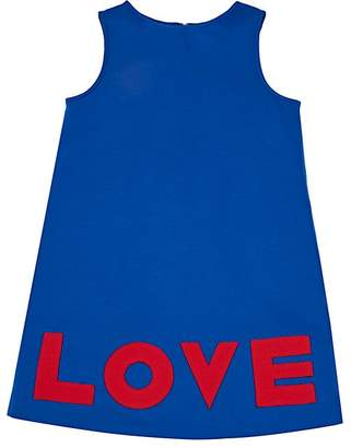 "Lisa Perry Kids' ""Love"" Ponte-Knit Dress"