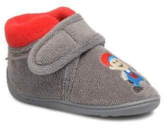 Isotoner Kids's Botillon Micro Éponge Slippers in Grey
