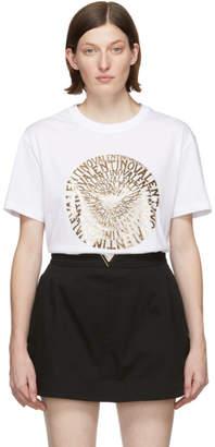 Valentino White Vertigo Logo T-Shirt