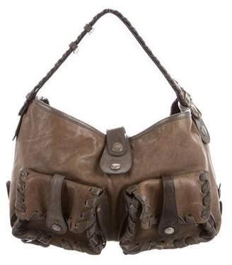 Chloé Distressed Leather Shoulder Bag