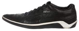 Alexander McQueen x Puma Leather Pointed-Toe Sneakers