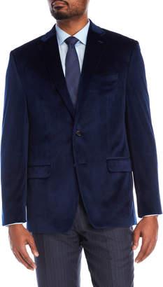 Lauren Ralph Lauren Navy Velvet Sports Coat