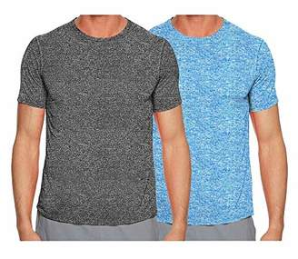 eeefddabc824 TEKFIT TEXFIT Men s 2-Pack Active Comfort T-Shirts with Quick Dry Stretch  Fabric