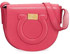 Salvatore Ferragamo Gancio City Crossbody Bag, Bubble Gum/Pink