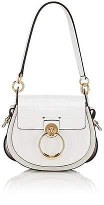 Chloé Women's Tess Leather Shoulder Bag - White