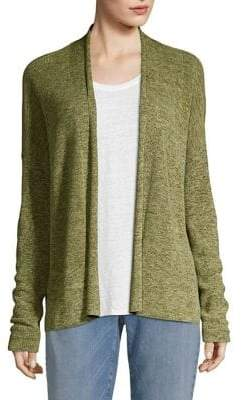 Eileen Fisher Organic Cotton Medley Simple Cardigan