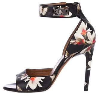 Givenchy Floral High Heel Sandals