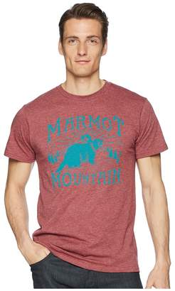 Marmot Short Sleeve Sunrise Tee Men's T Shirt