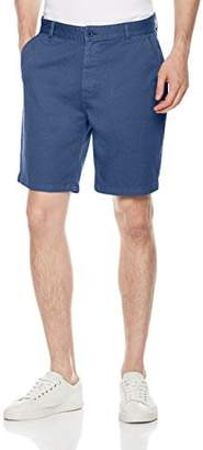 Co Quality Durables Men's Stretch Cotton Regular-Fit Chino Flat-Front Short 34