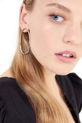 Urban Outfitters Mia Mixed Metal Statement Earring