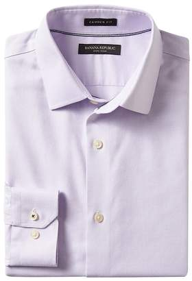 Banana Republic Camden Standard-Fit Cotton Stretch Non-Iron Solid Shirt