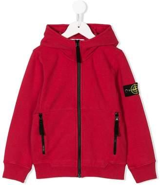 Stone Island Junior full-zipped hoodie