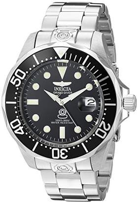 Invicta Men's 3044 Stainless Steel Grand Diver Automatic Watch