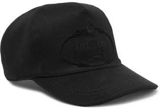 Logo-embroidered baseball cap Prada axf7XMdE6