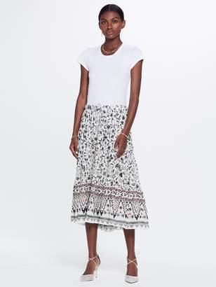 Xirena XiRENA Kaia Xanadue Printed Gauze Skirt - White Sand