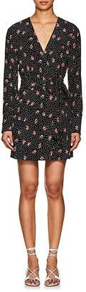 FiveSeventyFive Women's Tulip-Print Twill Dress