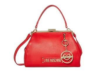 Love Moschino Love Logo Clasp Handbag