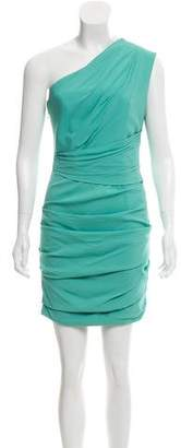 Matthew Williamson One-Shoulder Knee-Length Dress