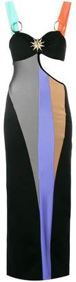 Fausto Puglisi cut-out fitted dress