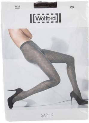 Wolford Patterned Semi-Sheer Tights w/ Tags