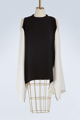 Koché Silk cape top
