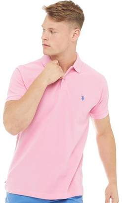 U.S. Polo Assn. Mens King Polo Sea Pink