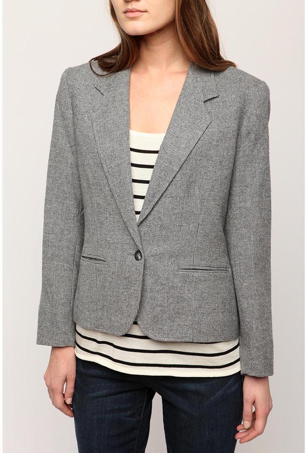 Urban Renewal Vintage Tweed Blazer