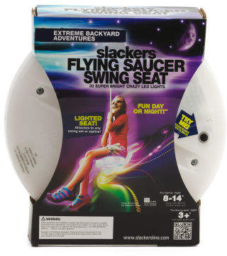 Led Flying Saucer Swing Seat