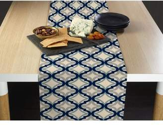 Bloomsbury Market Wimbley Diamond Ogee Milliken Signature Table Runner