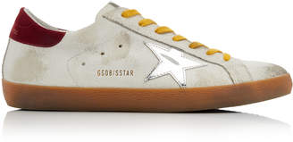 Golden Goose Stardan Low-Top Leather Sneakers