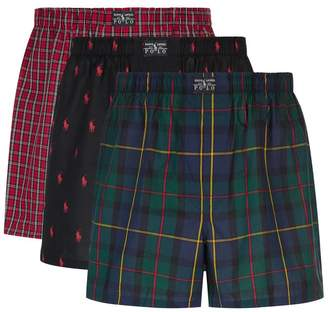 Polo Ralph Lauren Cotton Boxer Shorts (Pack of 3)