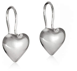 Tales From The Earth Everyday Sterling Silver Heart Earrings