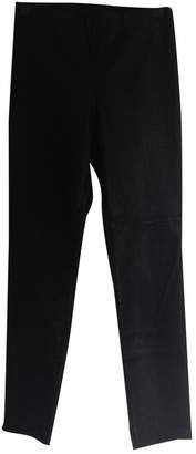 H&M Conscious Exclusive Black Leather Trousers for Women