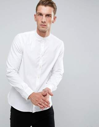 French Connection Slim Fit Grandad Shirt