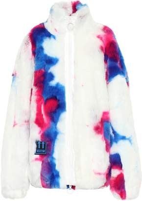 Off-White Off White Printed faux fur jacket