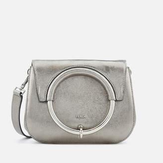 Furla Women's Margherita Mini Cross Body Bag - Silver