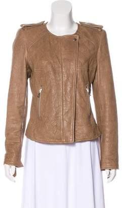 Isabel Marant Zip-Up Leather Jacket