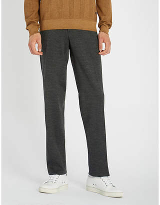 Brioni Relaxed-fit wool-blend travel trousers