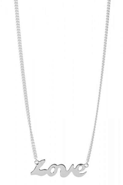Styleserver DE Tomshot Halskette mit Love-Pendant versilbert
