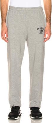 Vetements Georgia Jogging Pants in Grey   FWRD