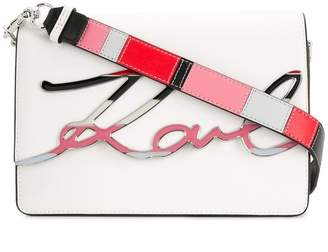 Karl Lagerfeld K/Signature Special Enamel crossbody bag