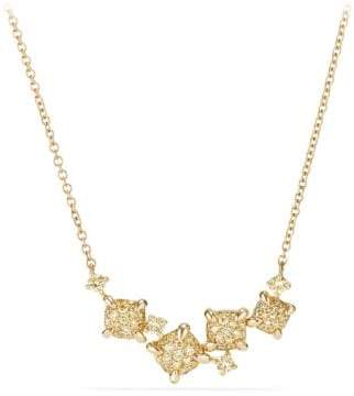 David Yurman Precious Chatelaine® Necklace With Yellow Diamonds In