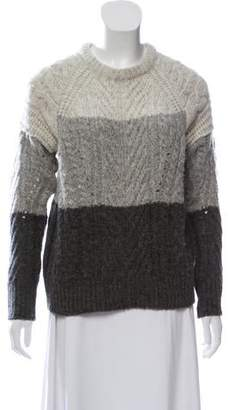 Marc by Marc Jacobs Wool-Blend Long Sleeve Sweater