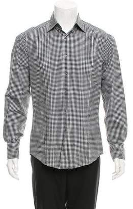 Michael Bastian Gingham Button-Up Shirt